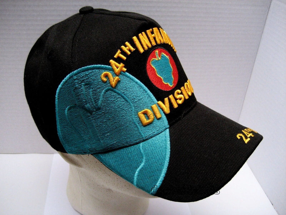 32109ee8aba US ARMY 24TH INFANTRY DIVISION Embroidered Hat — Veteran Nations Store
