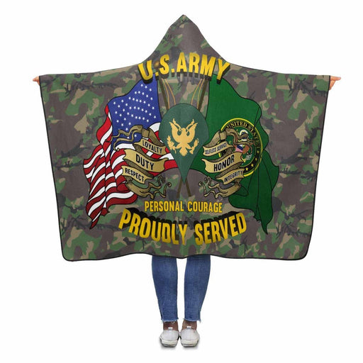 US Army E-4 SPC E4 Specialist Ranks Proudly Served