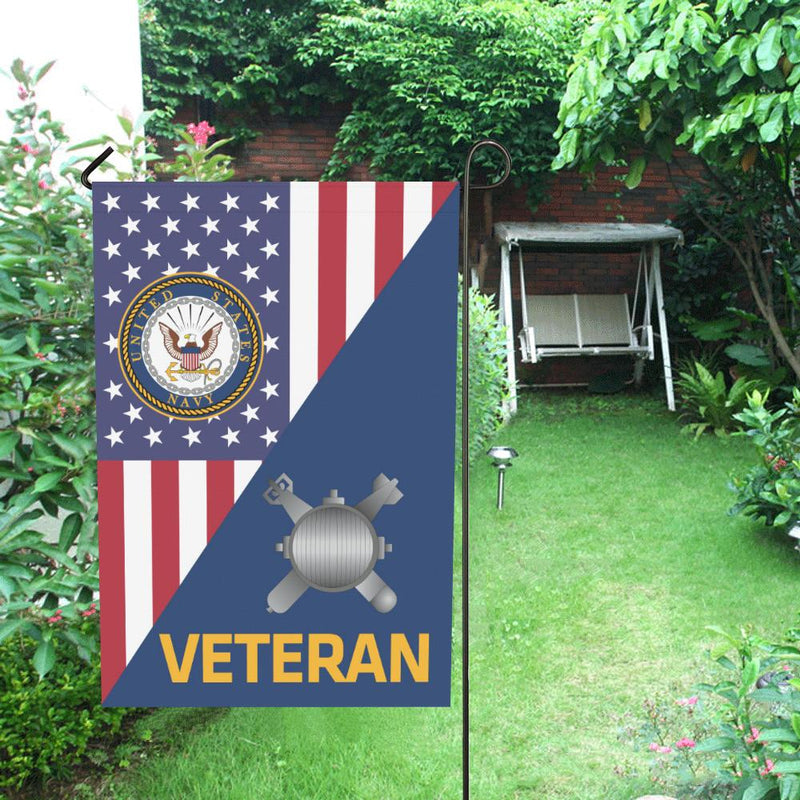 US Navy Explosive Ordnance Disposal Navy EOD Veteran House Flag 28 inches x 40 inches Twin-Side Printing