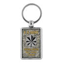 US Army O4 O5 O6 Field Officer - Proudly Served Keychain