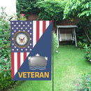 US Navy Mineman Navy MN Veteran House Flag 28 inches x 40 inches Twin-Side Printing
