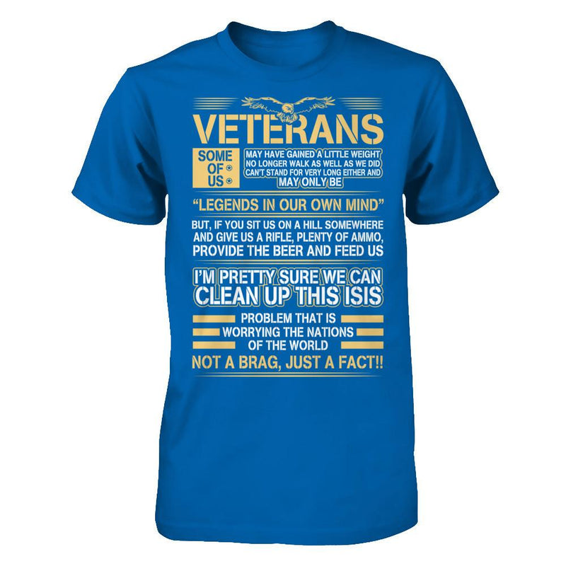 Veteran - Legend In Our Mind T Shirt
