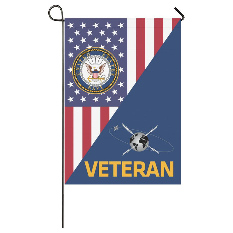 US Navy Mass Communications Specialist Navy MC Veteran House Flag 28 inches x 40 inches Twin-Side Printing