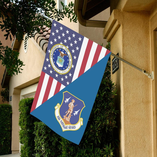 US Air Force Air National Guard House Flag 28 inches x 40 inches Twin-Side Printing