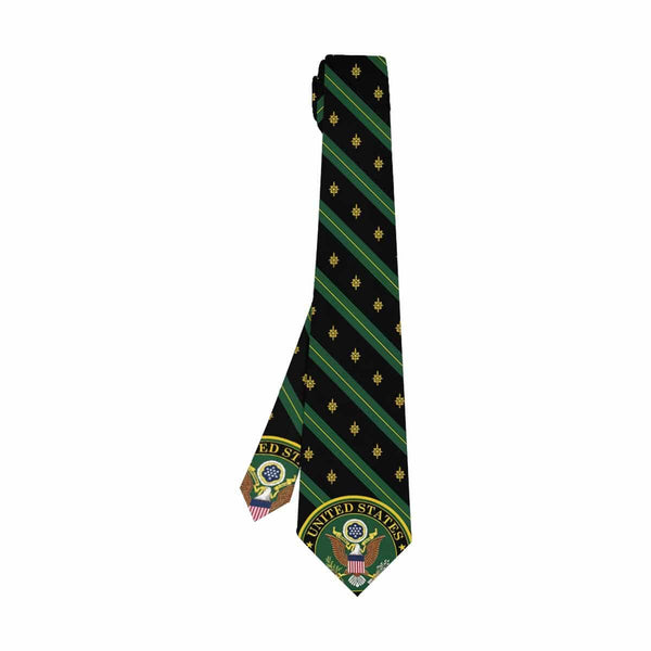 US Army Military Intelligence Branch  Classic Necktie (Two Sides)