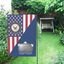 US Navy Mineman Navy MN House Flag 28 inches x 40 inches Twin-Side Printing