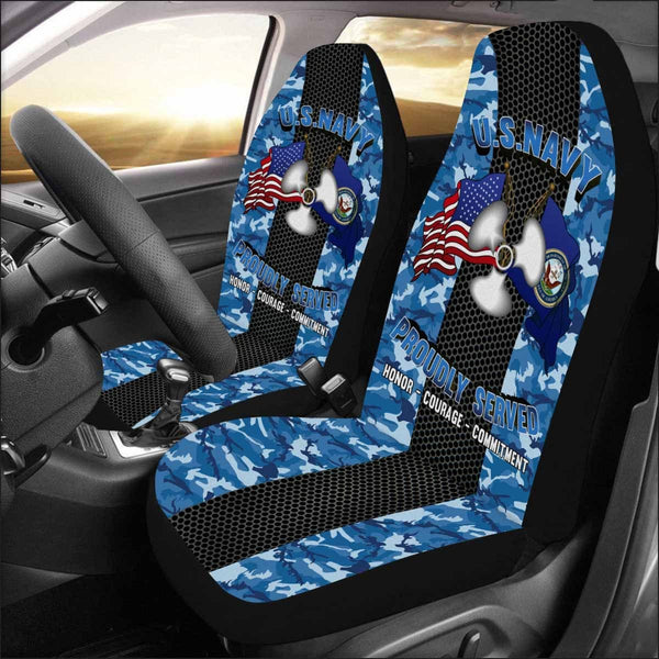 US Navy Machinist's Mate Navy MM Seat Cover