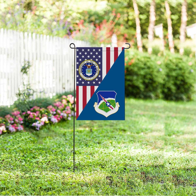 US Air Force 23rd Air Division Garden Flag/Yard Flag 12 inches x 18 inches Twin-Side Printing