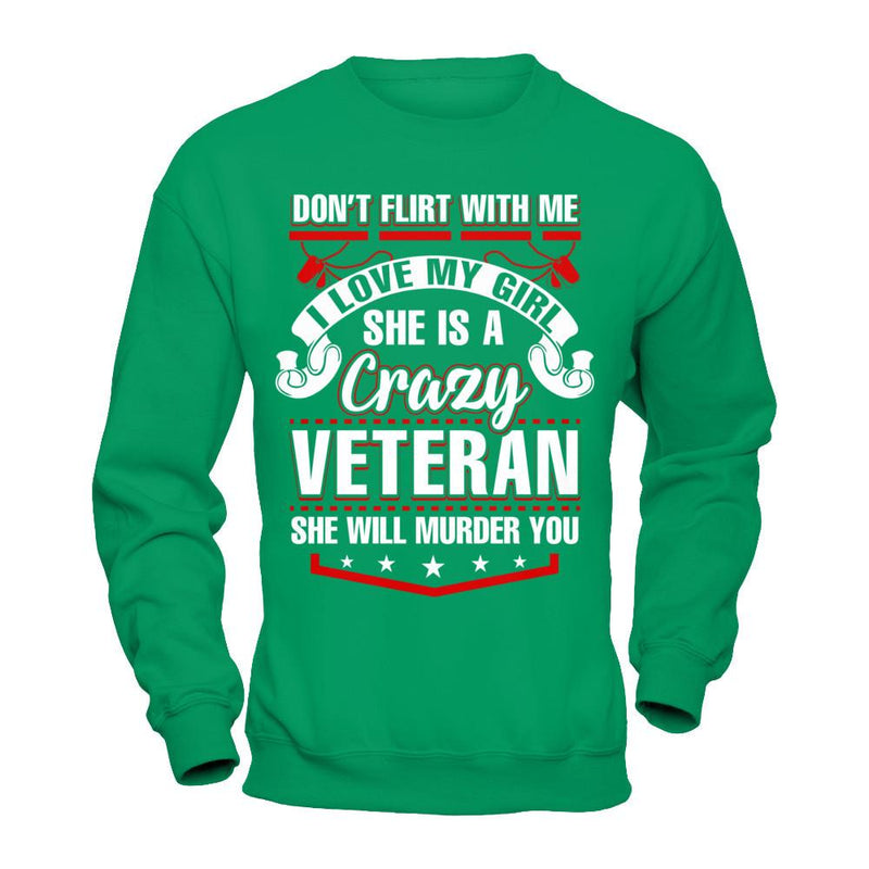 I love My Crazy Veteran T Shirt