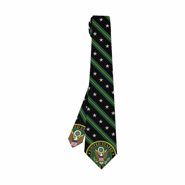 US Army O-7  Classic Necktie (Two Sides)