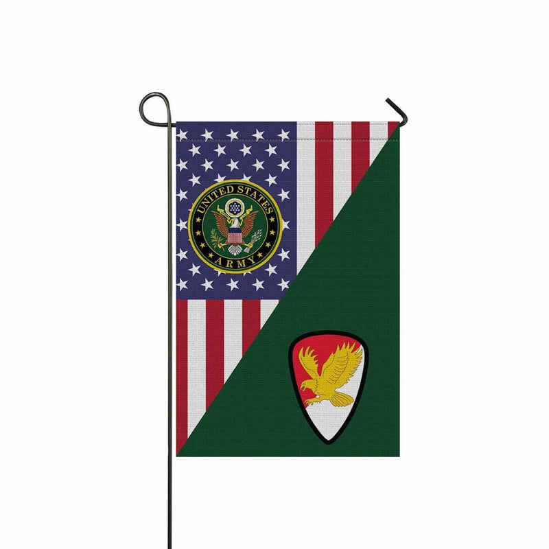 US ARMY 21ST CAVALRY BRIGADE Garden Flag/Yard Flag 12 inches x 18 inches Twin-Side Printing
