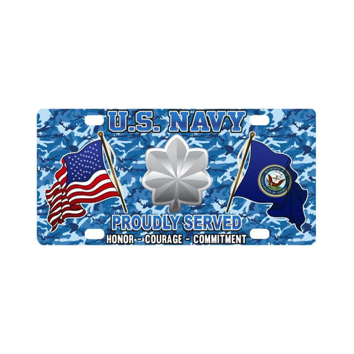 US Navy O-5 Commander O5 CDR Senior Officer Classi Classic License Plate