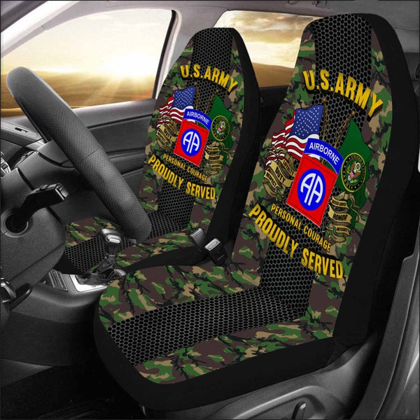 US Army 82nd Airborne Car Seat Covers (Set of 2)