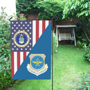 US Air Force Air Mobility Command House Flag 28 inches x 40 inches Twin-Side Printing