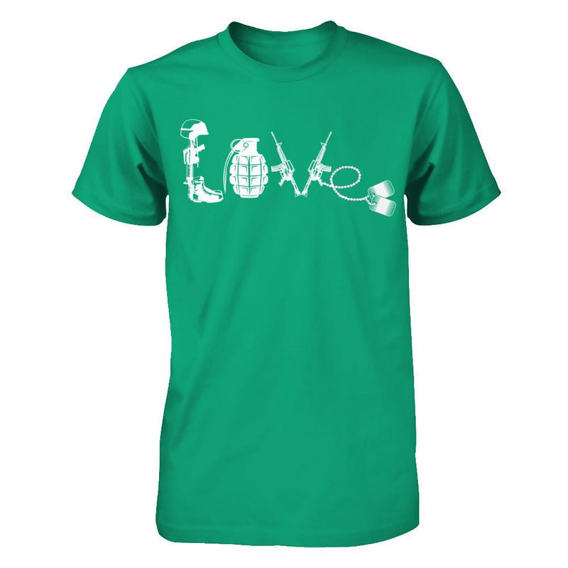 Veteran With Love T Shirt