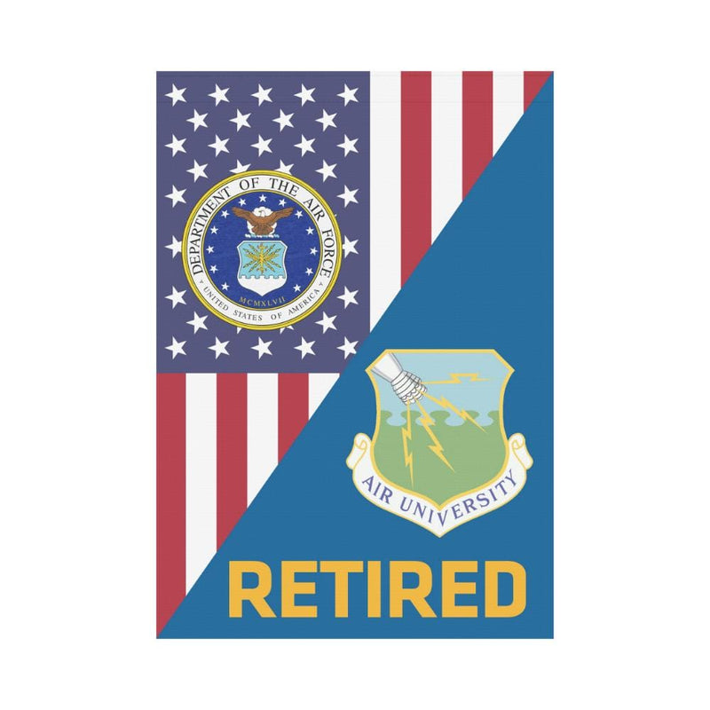 US Air Force Air University Retired House Flag 28 inches x 40 inches Twin-Side Printing