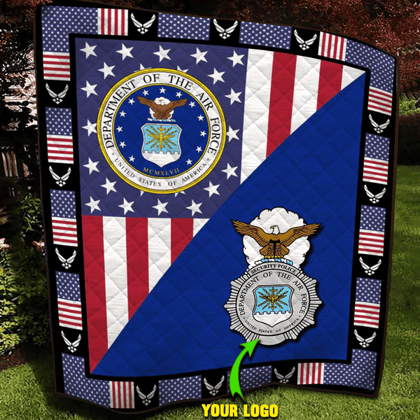 U.S Air Force - Your Major Commands Blanket Quilt