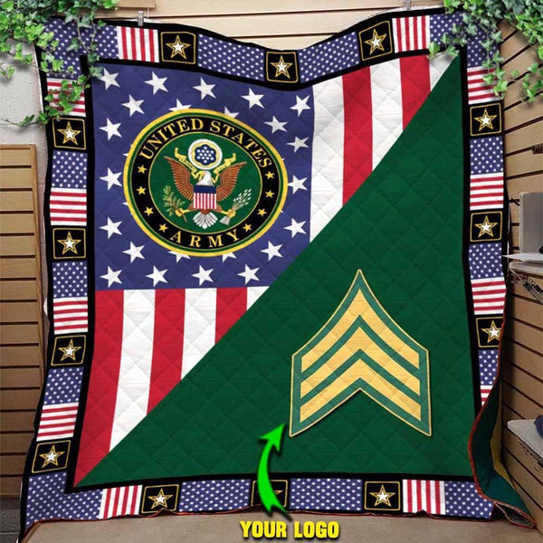 U.S Army - Your Ranks Blanket Quilt