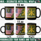 US Army Branch - Personalized 11oz - 15oz Black Mug