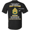 2 Percent Of Americans Have Worn An Army Uniform - US Army Ranks T-Shirt On Back