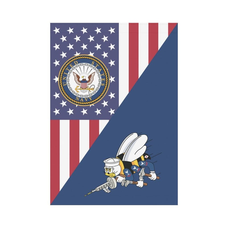 US Navy Seabees House Flag 28 inches x 40 inches