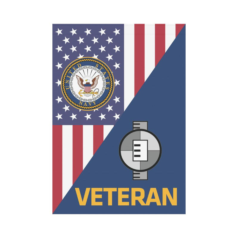 US Navy Engineering Aide Navy EA Veteran House Flag 28 inches x 40 inches Twin-Side Printing