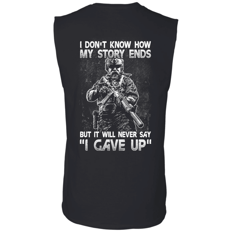 Veteran - I Don't Know How My Story Ends T Shirt