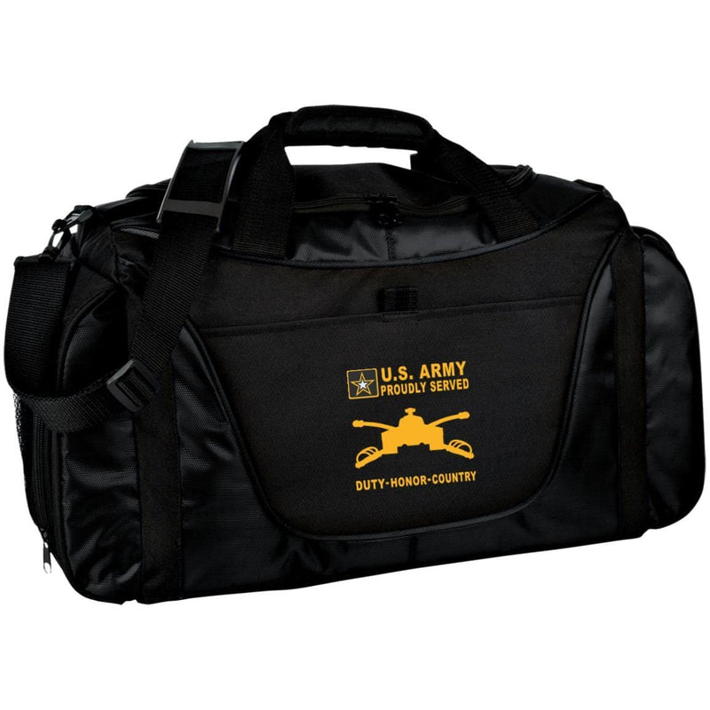 US Army Armor - Proudly Served-D04 Embroidered Duffel Bag
