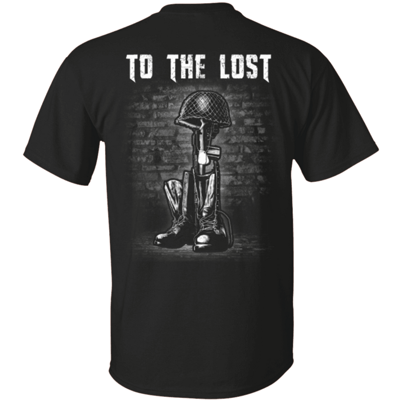 To The Lost - Veteran T Shirt
