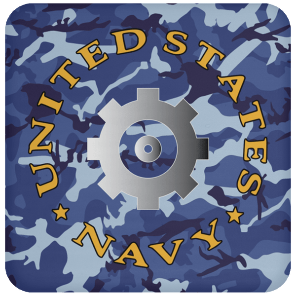 U.S Navy Engineman Navy EN - Proudly Served Coaster
