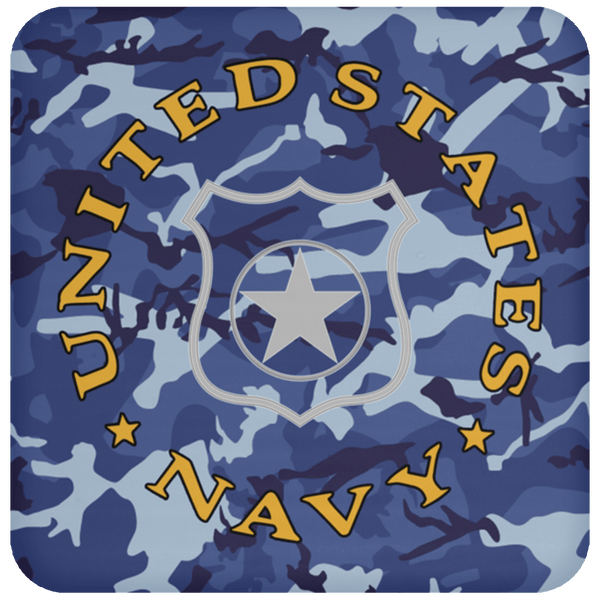 U.S Navy Master-at-arms Navy MA - Proudly Served Coaster
