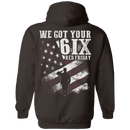 Veteran - We Got Your Six Red Friday T Shirt