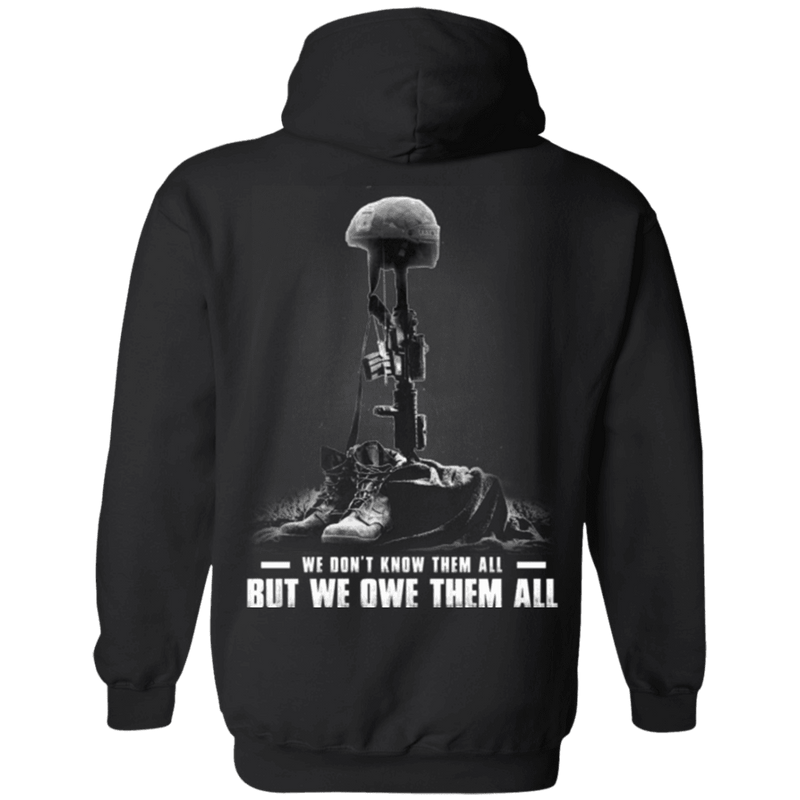 We Owe Them All - Men Back T Shirt