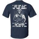 The Third Monkey - Men Back T Shirt