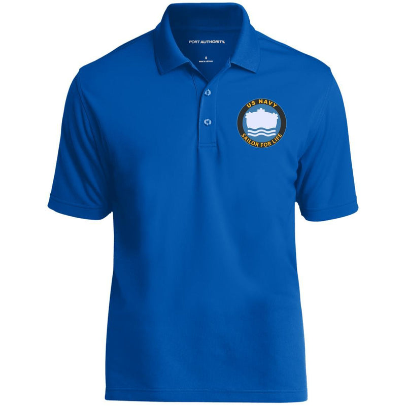 US Navy Mineman MN Logo_SFL Embroidered Port Authority® Polo Shirt