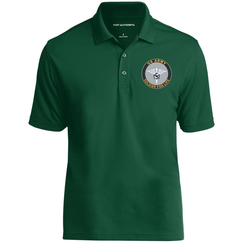 US Army Medical Service Corps Soldier For Life Embroidered Port Authority® Polo Shirt