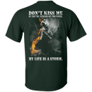 My Life Is Storm Veteran T Shirt