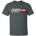 Grandpa - A Real American Hero - Men Front T Shirt