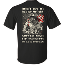 Don't Try to Figure Me Out - I'm A US Veteran T Shirt