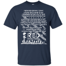 WEAR RED EVERY DAY VETERAN REMEMBER MEMORY DAY T SHIRT
