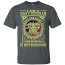 Navy Veteran Have the Right To Bear Arms Men Front T Shirts
