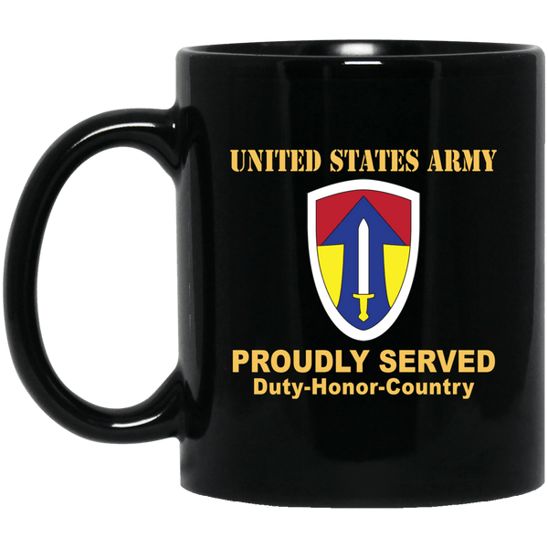 US ARMY 2 FIELD FORCE, VIETNAM- 11 oz - 15 oz Black Mug