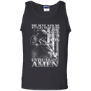 The Devil Saw Me With My Head Down Amen Men Front T Shirt
