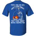 Veteran - They Care About Being Respected T Shirt