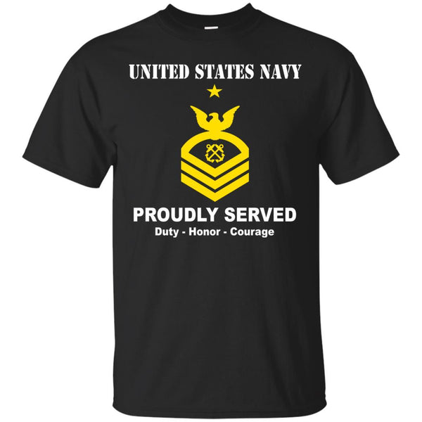 US Navy E-8 Senior Chief Petty Officer E8 SCPO Senior Noncommissioned Officer Ranks T shirt Men Front - T Shirts For Navy Ranks