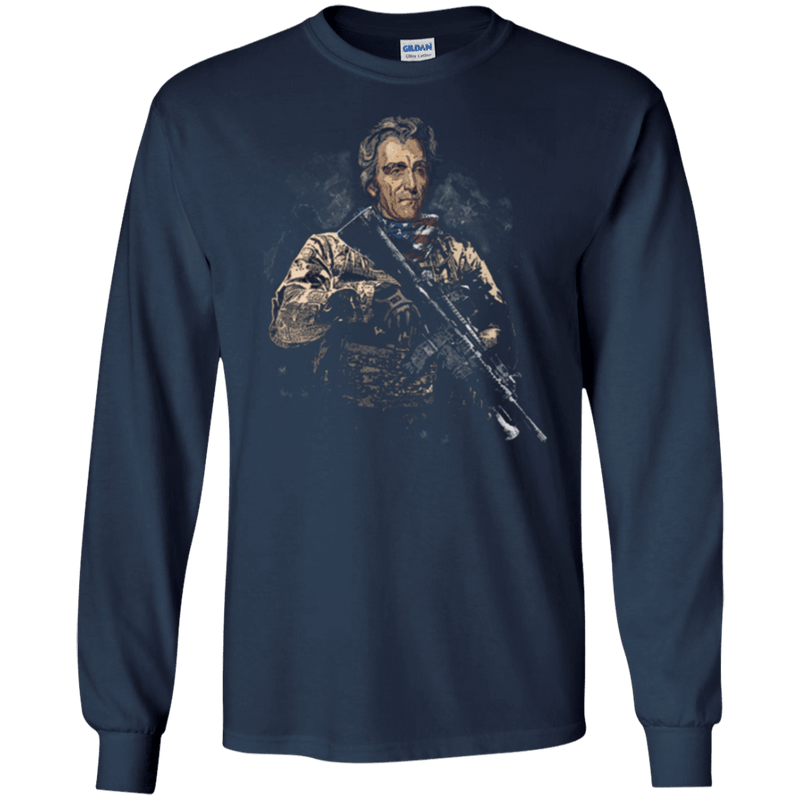 Andrew Jackson Soldier Presidents T Shirt