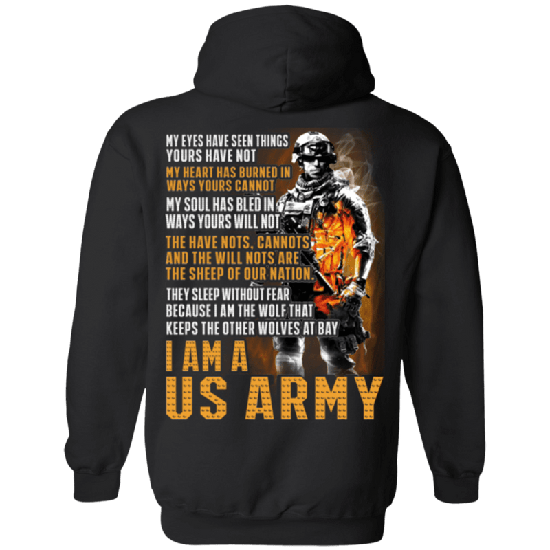 I Am A US ARMY T Shirt