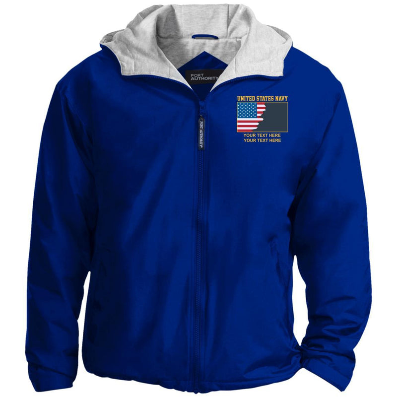 US Navy Officer - Personalized Embroidered Port Authority® Team Jacket