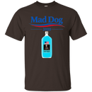 "Military T-Shirt ""Funny Mad Dog 2020 Blue Men"" Front"