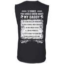 5 Things You Should Know About My Daddy Veteran T Shirt